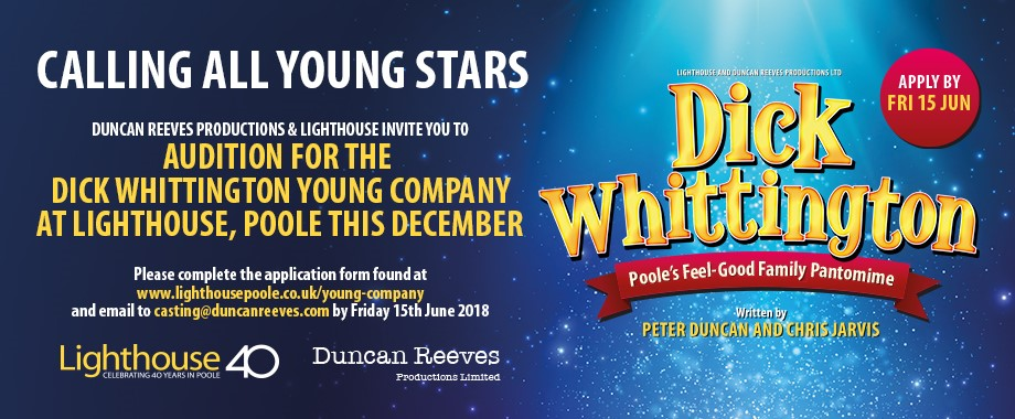 Dick Whittington Auditions